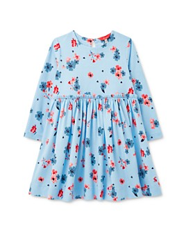 Joules - Girls' Floral Print Shift Dress - Little Kid, Big Kid