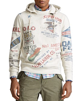 Polo Ralph Lauren - Graphic Logo Fleece Hooded Sweatshirt