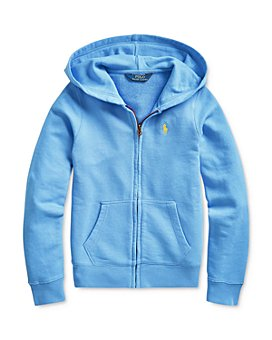 Ralph Lauren - Girls' Dip-Dyed French Terry Hoodie - Big Kid
