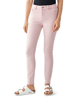 DL1961 - Florence Mid-Rise Skinny Ankle Jeans in Camellia