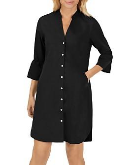 Foxcroft - Nolan Bell-Sleeve Shirt Dress