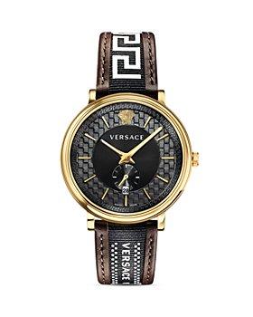 Versace - V Circle Greca Edition Watch, 42mm