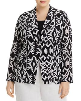 Marina Rinaldi - Cesto Silk Printed Jacket