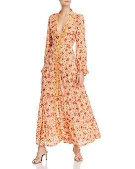 Poupette St. Barth - Floral-Print Tiered Dress