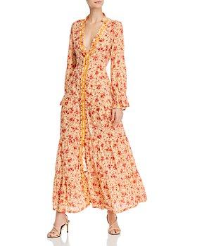 Poupette St. Barth - Floral-Print Tiered Dress