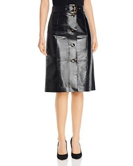 Lafayette 148 New York - Avalon Leather Skirt