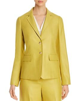 Lafayette 148 New York - Thatcher Silk & Wool Blazer