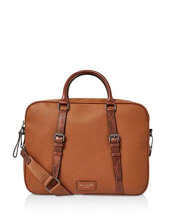 Ted Baker - Hooston Leather Document Bag