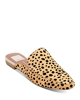 Dolce Vita - Women's Halee Leopard-Printed Mule Flats