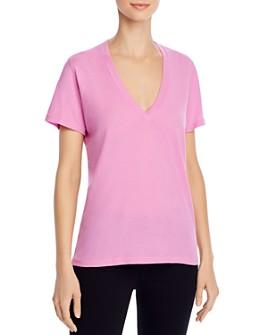 Monrow - V-Neck T-Shirt