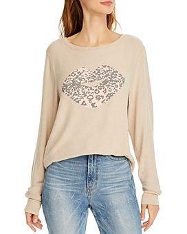 WILDFOX - Leopard Kiss Sweatshirt