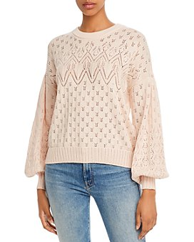 Joie - Phillipa Pointelle Knit Sweater