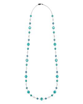 "IPPOLITA - Sterling Silver Lollipop® Lollitini Blue Gemstone Long Necklace, 36"""