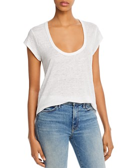 Joie - Evalina Scoop-Neck Tee