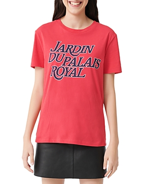 Maje Terence Graphic Tee-Women
