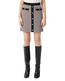 Maje - Jivi Tweed Mini Skirt