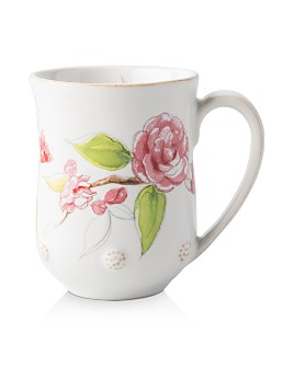 Juliska - Berry & Thread Floral Sketch Camellia Mug