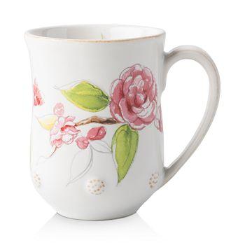 Juliska - Berry & Thread Floral Sketch Camellia Mug
