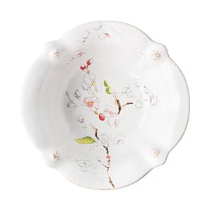 Juliska Berry & Thread Floral Sketch Cherry Blossom Cereal/Ice Cream Bowl