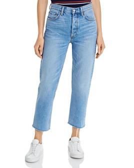 Boyish - The Tommy High Rise Rigid Straight Jeans in Gilda