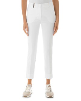 Peserico - Tapered Leg Ankle Pants