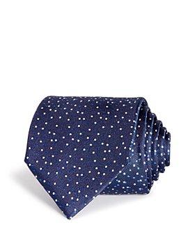 BOSS - Tossed Dots Silk Classic Tie