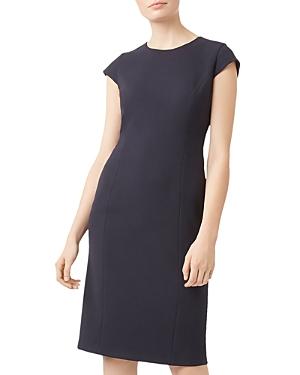 Leila Cap-Sleeve Sheath Dress