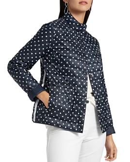 BASLER - Polka-Dot Reversible Quilted Jacket