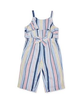 Habitual Kids - Girls' Jayda Striped Ruffled Jumpsuit - Baby
