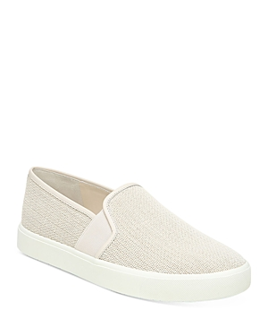 Vince Leathers WOMEN'S BLAIR-5 LEATHER SLIP-ON SNEAKERS