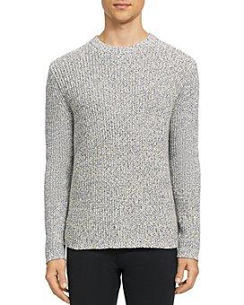 Theory - Cadiz Speck Half Cardigan Sweater