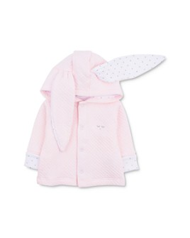Livly - Girls' Cotton Hooded Bunny Cardigan - Baby