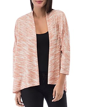 B Collection by Bobeau - Luann Space-Dyed Open-Front Cardigan
