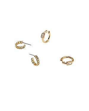 Nadri Cece Mini Hoop Earrings, Set of 2-Jewelry & Accessories