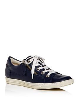 Paul Green - Women's Carmel Zip Low-Top Sneakers