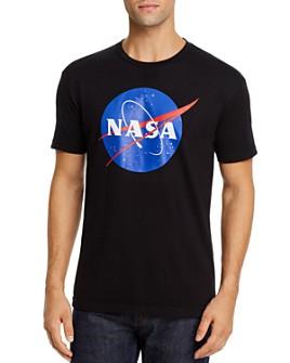 Kid Dangerous - Cotton NASA Logo Graphic Tee