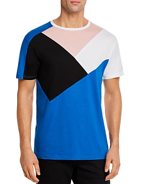 Karl Lagerfeld Paris Color-Blocked Tee-Men