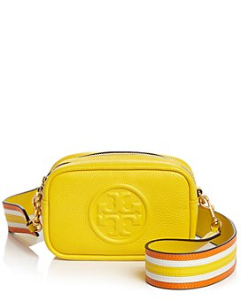 Tory Burch - Perry Bombe Mini Leather Convertible Strap Shoulder Bag