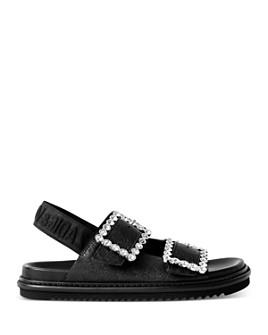 Zadig & Voltaire - Women's Rhinestone-Embellished Slingback Sandals