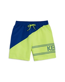 Kenzo - Boys' Color-Blocked Swim Shorts - Big Kid
