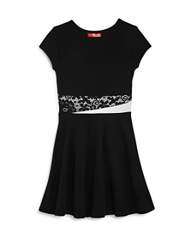AQUA - Girls' Fit & Flare Dress, Big Kid - 100% Exclusive
