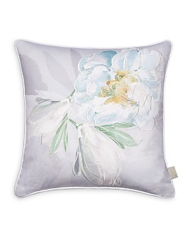 """Ted Baker - Wilderness Embroidered Decorative Pillow, 16"""" x 16"""""""