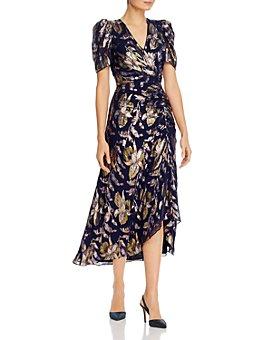 Shoshanna - Chloe Floral-Print Ruched Dress