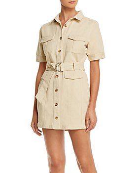 FORE - Cotton Cargo Mini Dress