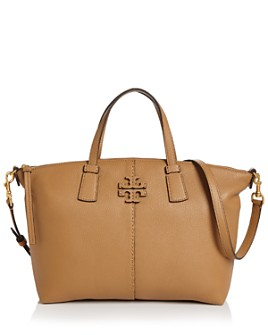 Tory Burch - McGraw Small Leather Satchel