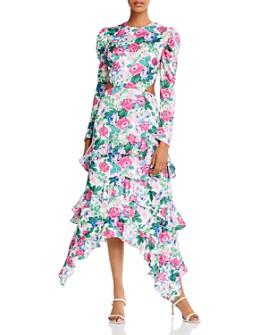 WAYF - Tiered Floral Print Maxi Dress