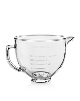 KitchenAid - 5-Quart Glass Bowl with Lid