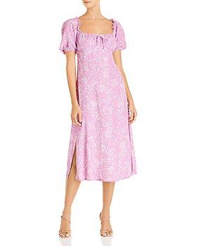 Faithfull the Brand - Bette Tie-Detail Midi Dress