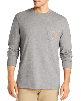 Vineyard Vines - March Madness Long-Sleeve Cotton Pocket Tee