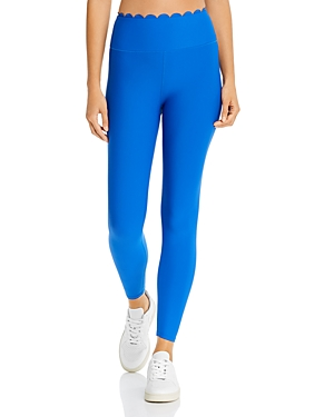 Aqua Athletic Scalloped Leggings - 100% Exclusive